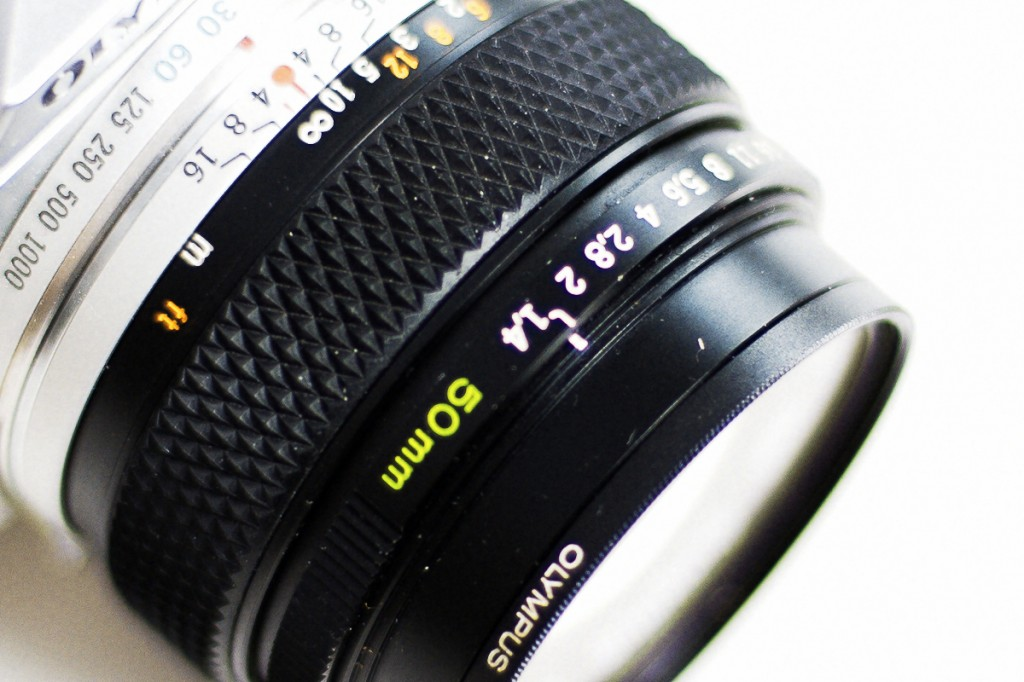 Olympus 50mm f1,4